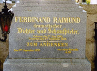 Ferdinand Raimund Grabmal